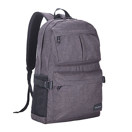 Cheap Hanxiema Travel Laptop Backpack Fit 15.6 Inch Laptop or Macbook Oxford Cloth with USB Charging Port Large Capacity School Computer Bag for Men Women (Dark Grey HXm-02-2)