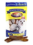 Shadow River 25 Pack 6 Inch Gnarly All Natural Premium Beef Bully Sticks For Dogs