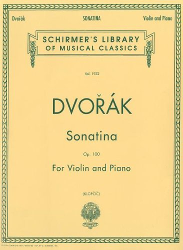 Sonatina for Violin and Piano, Op. 100