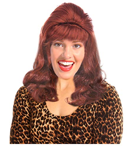 (Costume Adventure Auburn Bouffant Peg Bundy Style Wig for Peggy)