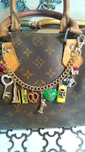 New York City Bag Chain Charm. Purse Charm Handmade, Handcrafted, Custom made. Gift Item #205 ()