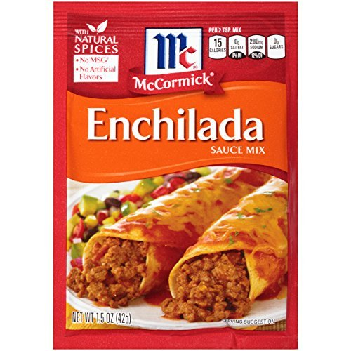 McCormick Enchilada Seasoning Mix (Pack of 36)