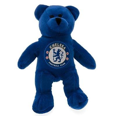 Chelsea FC Mini Bear Plush Toy (One Size) (Blue): Clothing