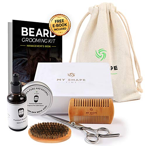 Beard Grooming Kit Men scissors