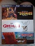 The Goonies, Gremlins (25th Anniversary Edotion), Gremlins 2 (The New Batch) BLU-RAY