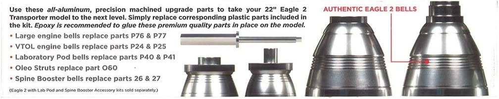 Space:1999 22 Eagle Supplemental Metal Parts Pack