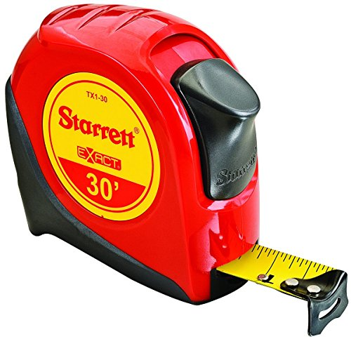 (Starrett KTX1-30-N-SP01 Exact Tape Measure, 1
