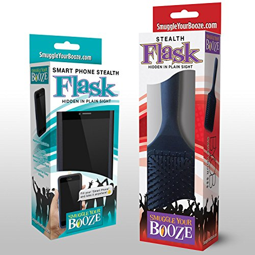 Smuggle Your Booze Smart Phone and Brush (Phone Flask)