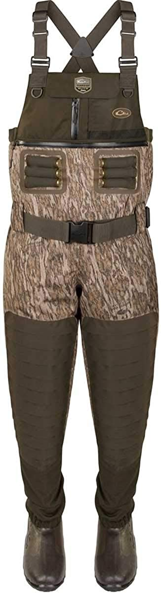 Image of Camouflage Accessories Drake Guardian 6-Layer 4in1 Wader Tear Away Liner - Mossy Oak Bottomland (11) (Mossy Oak Bottomland)
