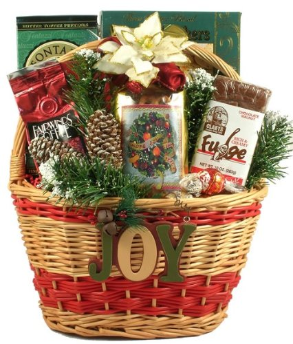 Merry Christmas and Happy New Year! Deluxe Christmas Gift Basket