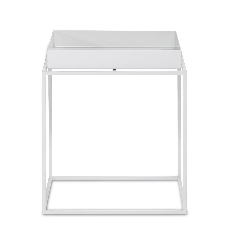 Hay Tray Table Beistelltisch Schwarz 30x30x34cm