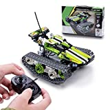 STEM Educational Toy RC Tank Building Blocks - 353 PCS - Remote Control Operated