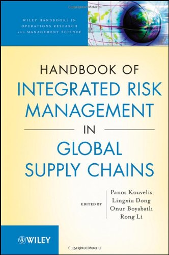 [PDF] Handbook of Integrated Risk Management in Global Supply Chains Free Download | Publisher : Wiley | Category : Computers & Internet | ISBN 10 : 0470535121 | ISBN 13 : 9780470535127
