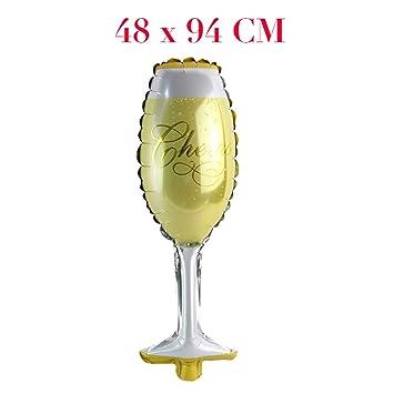 Globo de aluminio para decoración de bodas, aniversarios, fiestas ...