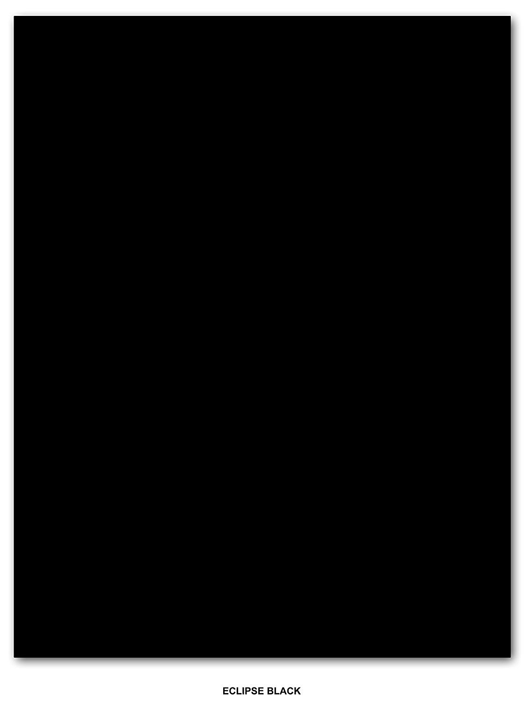 Neenah Astrobrights Premium Color Paper 24lb - 50 Sheets Per Pack (8.5 x 11, Eclipse Black)