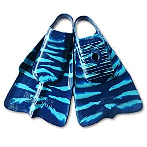 DaFin Zak Noyle Blue/Light Blue Swimfins for Bodysurfing - Medium