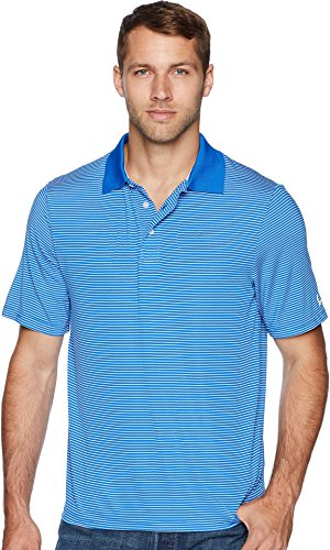 Cinch Men's Athletic Tech Polo Striped Blue X-Large (Cinch Mens)