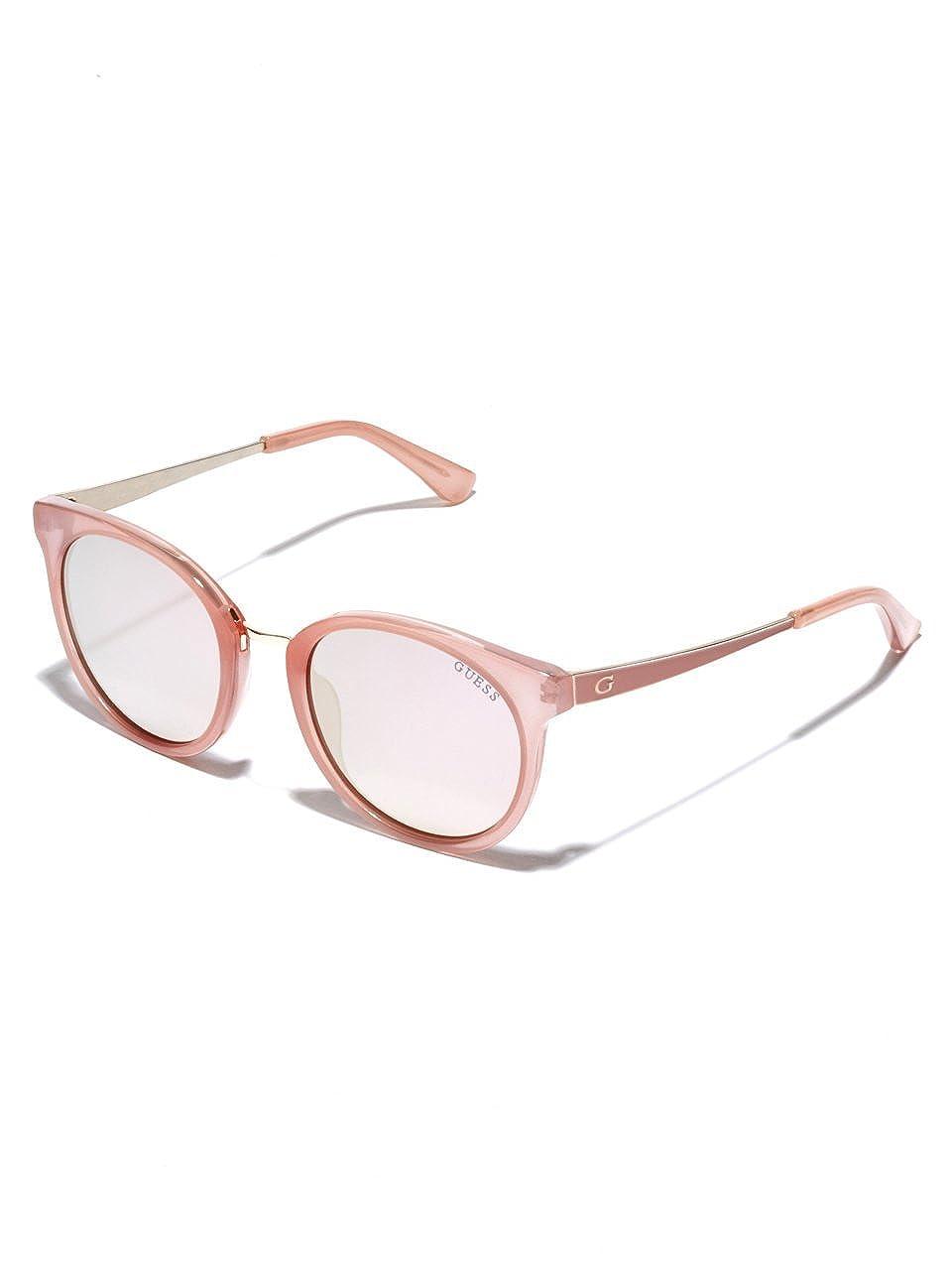 Guess GU7459E Gafas de sol, Rosa Luc\Fumo Specchiato, 52.0 ...