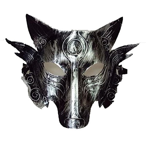 YYF Werewolf Creepy Scary Skull Head Mask Halloween Party Costume Decorations