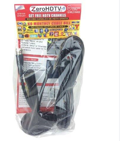 Review Zero HDTV Antenna