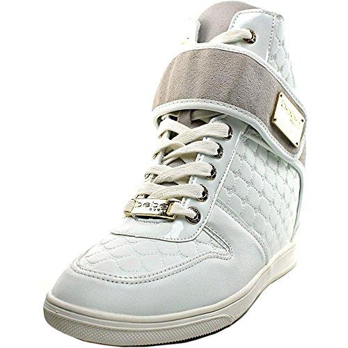 Bebe Sport Colby Women Us 6.5 Witte Mode Sneakers