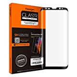Image of Spigen Galaxy S8 Plus Screen Protector Curved Edge / Tempered Glass / Case Friendly for Samsung Galaxy S8 Plus