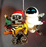 Disney/Pixar WALL-E and EVE FIGURINE CHRISTMAS ORNAMENT