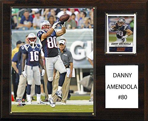 C&I Collectables NFL New England Patriots Danny Amendola Player Plaque, 12 x 15-Inch