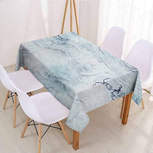 (ScottDecor Fabric Tablecloth Rectangular Polyester Tablecloth W 60