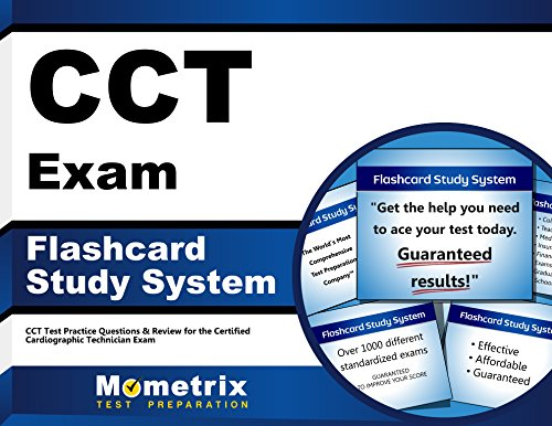 CCT Exam Flashcard Study System: CCT Test Practice Questions & Review for the Certified Cardiographic Technician Exam (Cards)