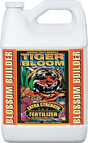 Fox Farm 791090255653 FX14020 1-Gallon Tiger Bloom Fertilizer 2-8-4, White