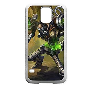 Singed-004 League of Legends LoL case cover Samsung Galaxy S6 - Rubber White