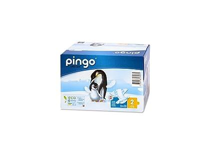 Pingo Pañales Talla 2 Mini (3-6 Kg) - Caja de 2 x