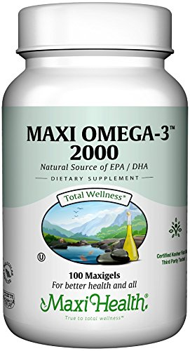 Maxi Health Omega 3 Fatty Acids product image