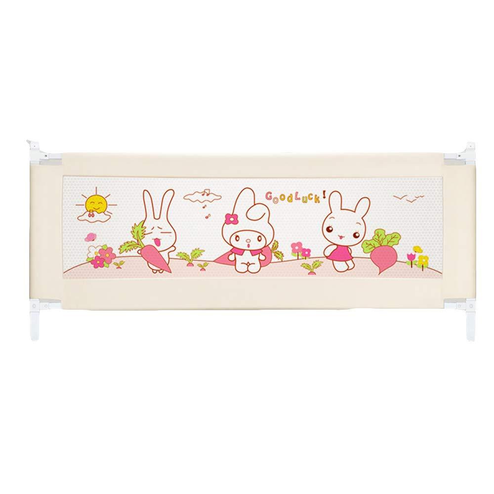 ベッドレール 幼児の子供のためのベッドの保護安全ベッドレール折りたたみ保護ガード63cmの高さ 安全ゲート (サイズ さいず : 2m) 2m  B07K7FLWTG