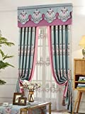 Bourgeois Fabrics Blackout Jacquard Grommet Curtains European Luxury Style Top Set Of 2, 50 Inches Wide x 84 Inches Long Blackout Curtains – Jester's Cove Design Review
