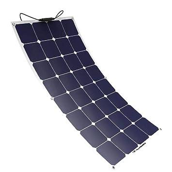 L@ily Cargador de Panel Solar 100W 18V 12V Módulo de ...
