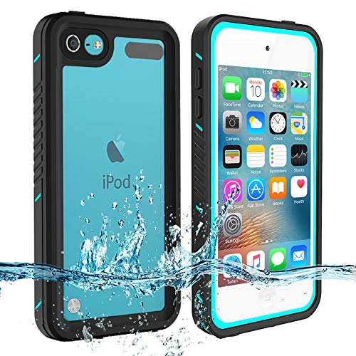 - iPod Touch 7 Touch 6 Touch 5 Waterproof Case, BESINPO Full-Body Protective Built-in Screen Protector Dustproof Shockproof Anti-Scratch Cover Case Compatible with Touch 7th/6th/5th Generation