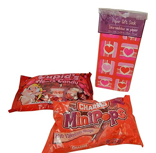 valentine-classroom-treat-bags-bundle-for-12-individual-charms-mini-pops-cupids-candy-hearts-12-vale