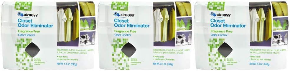 airBOSS Closet Odor Eliminator (3)
