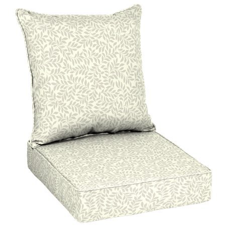 Better Homes and Garden Outdoor Patio Deep Seat Set (Ivory) (Outdoor Cushion Deep Seat)