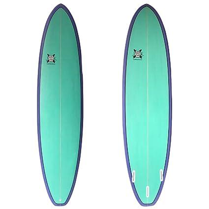 Amazon Com Jk Surfboards The Super Fun Longboard Surfboard 7ft
