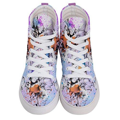 Pink Purple Donna Sneaker amp; Cowcow Violet Orange px8FTF