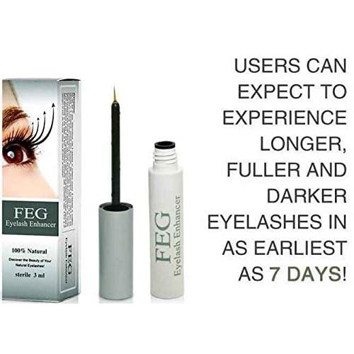 7e5932a360f FEG Eyelash enhancer. The most powerful eyelash growth Serum 100% Natural. Promote  rapid