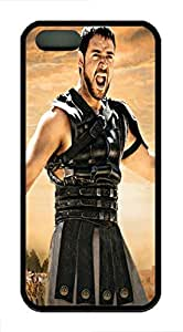 The Gladiator TPU Case Cover for iPhone 5 and iPhone 5s Black by runtopwellby Maris's Diary