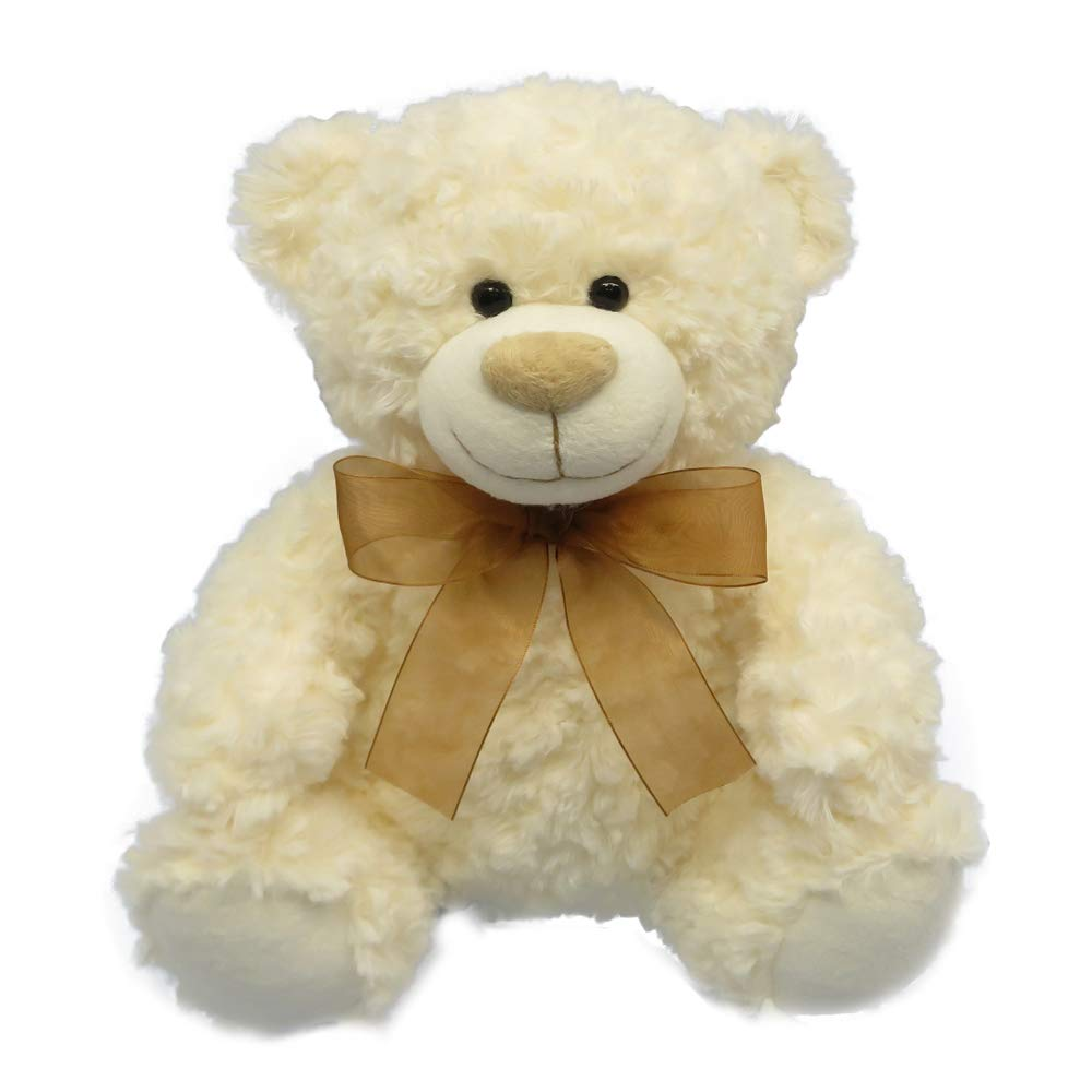 DORE Teddy Bear Stuffed Animal Plush Toys Cute Bear with Ribbon for Kids Brithday Gifts 7.8