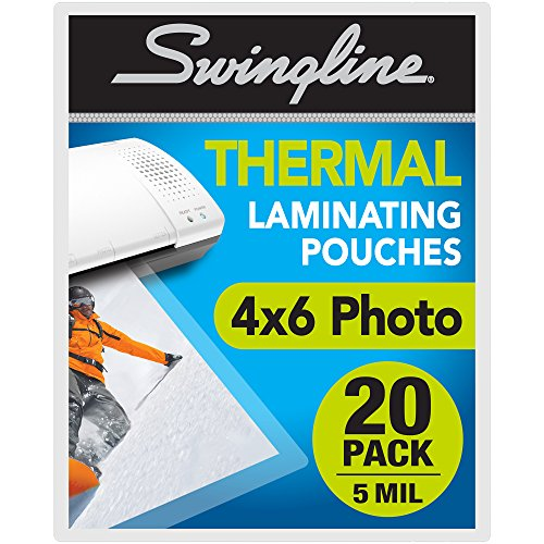 (Swingline Laminating Sheets, Thermal Laminating Pouches Letter Size, 3mil, 200 Pack)