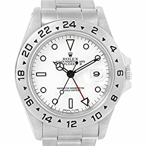 Rolex Explorer automatic-self-wind mens Watch 16570 (Certified Pre-owned)