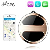 Mini GPS Pet Tracker Locator, Long Battery Life GPS Tracking Device Real Time Dog Finder for Kids Vehicle Luggage TK08