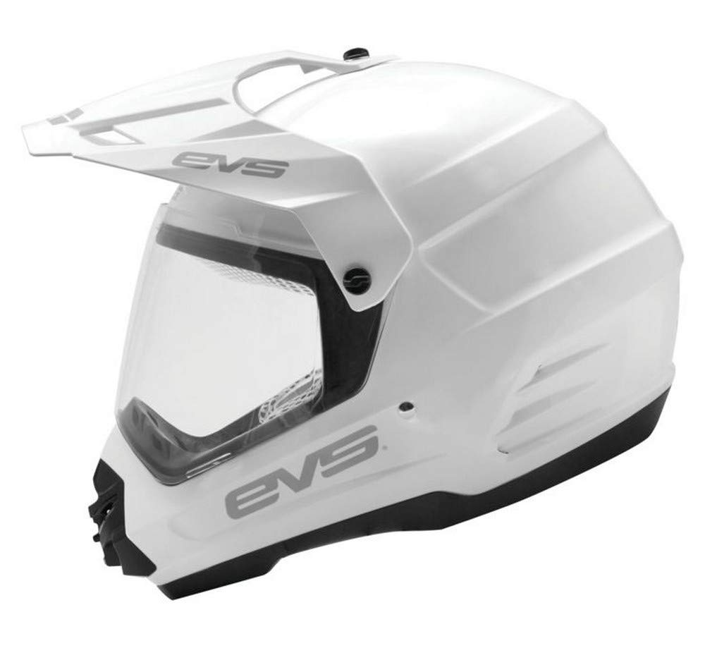 Venture Solid White X-Large DSHE18VS-W-XL EVS Sports Mens Full face Helmet